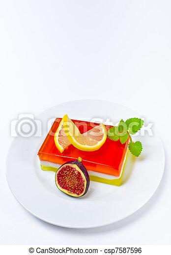 fruta, geléia - csp7587596