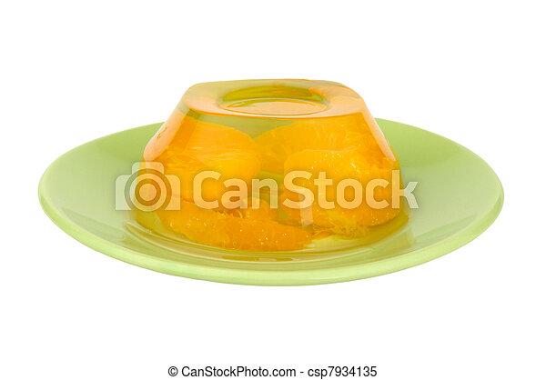fruta, geléia - csp7934135