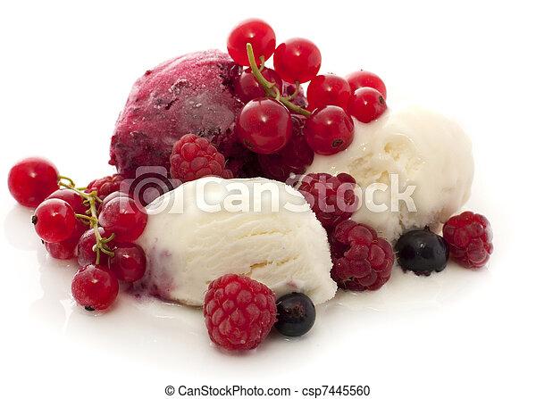 helado de fruta - csp7445560