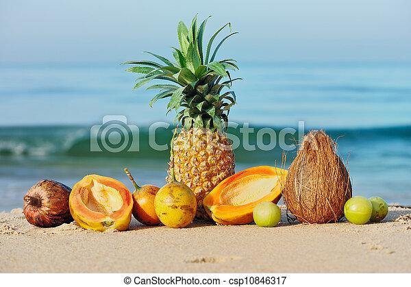 Fruta tropical madura - csp10846317