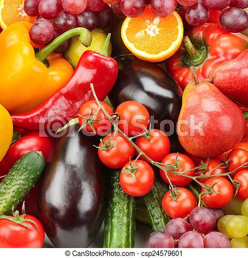 Fruta y verduras - csp24579601
