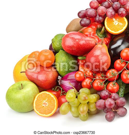 Fruta y verduras - csp23667730