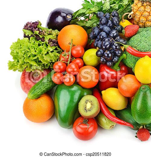 Fruta y verduras - csp20511820