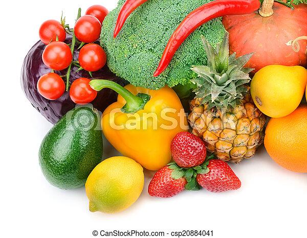 Fruta y verduras - csp20884041