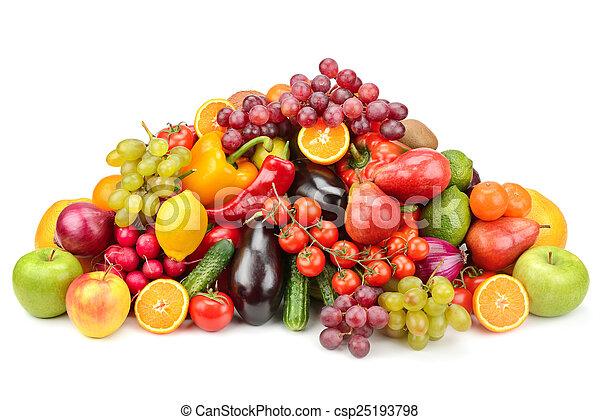 Fruta y verduras - csp25193798