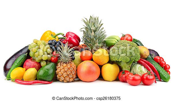 Fruta y verduras - csp26180375