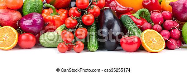 Fruta y verduras - csp35255174