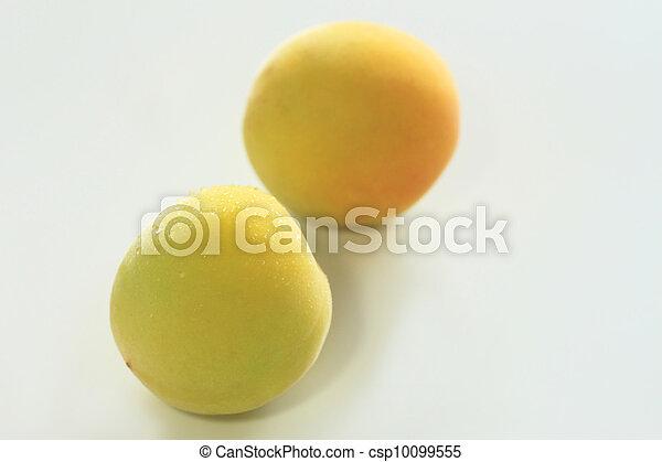 frutas, maduro, ume - csp10099555