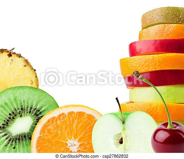 Frutas tropicales - csp27862832