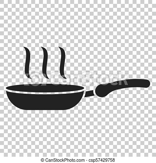 Stewpan and cooking pot stack monochrome Vector Image