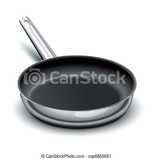 Frying pan - csp6855651