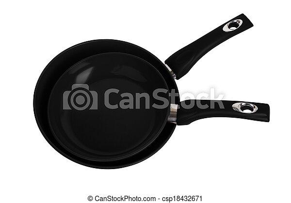 frying pans - csp18432671