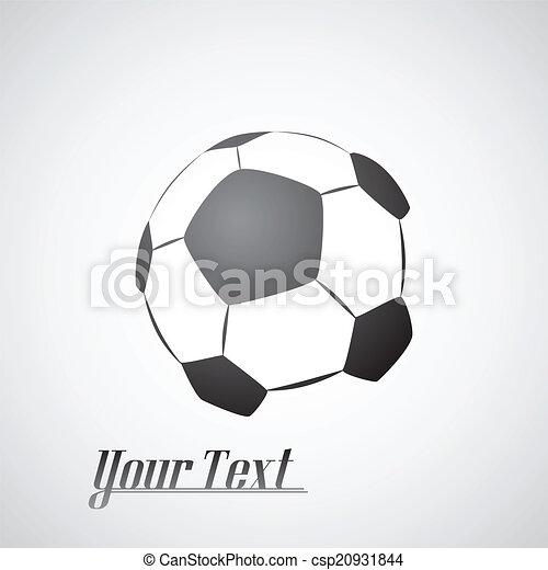 Fußballball-Ikone - csp20931844