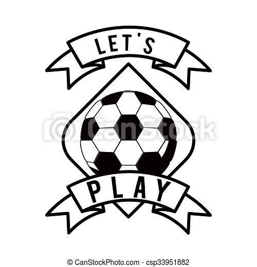 Fussball Fussball Design Fussball Design Vektorgrafik Eps10