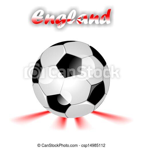 Fussball England Kugel Multi Kugel England Gefarbt