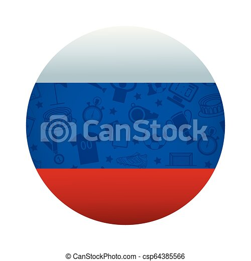 fußball, sport, karikatur - csp64385566
