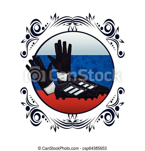 Football-Sport-Cartoon - csp64385653