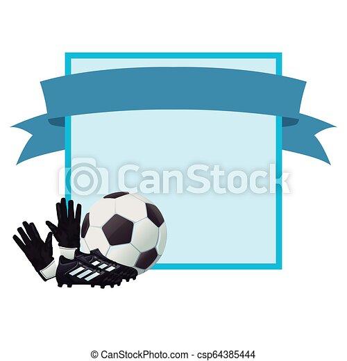 Football-Sport-Cartoon - csp64385444