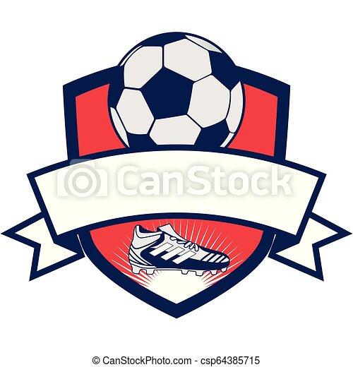 fußball, sport, karikatur - csp64385715
