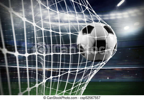 Fussballnetz Kugel Ziel Spielergebnisse