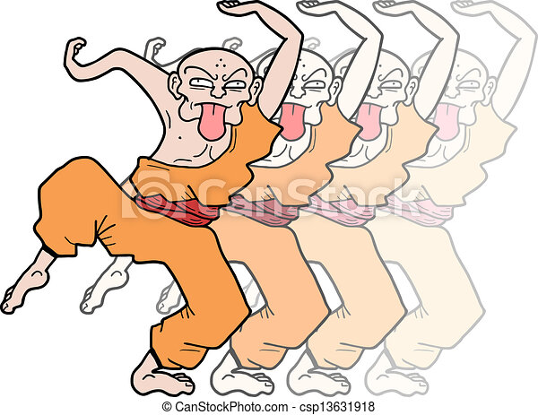 Efecto de Kung fu - csp13631918