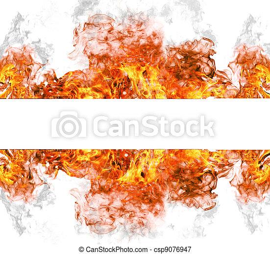 Una colección de fuego - csp9076947