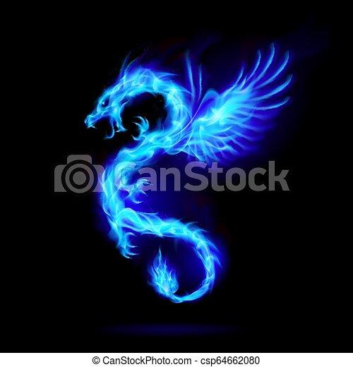 Dragón de Fuego - csp64662080