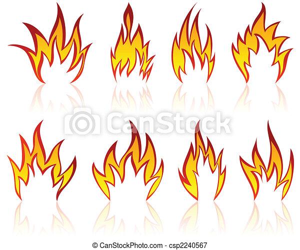 Patrones de fuego listos - csp2240567