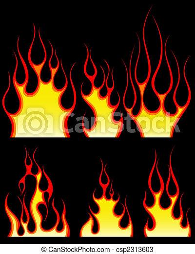 Patrones de fuego listos - csp2313603