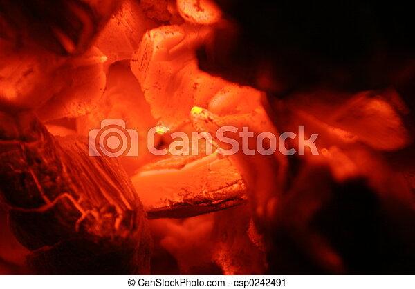 La punta del fuego - csp0242491