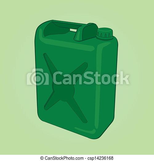 fuel can vector - csp14236168