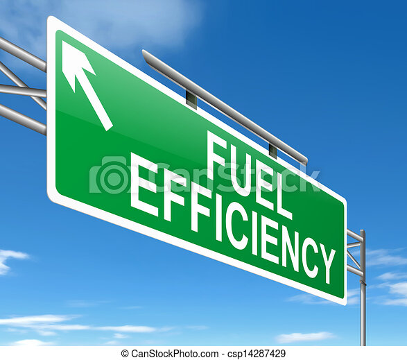 Fuel efficiency concept. - csp14287429