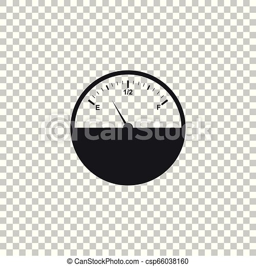 fuel gauge icon isolated on transparent background full tank flat design vector illustration https www canstockphoto com fuel gauge icon isolated on transparent 66038160 html