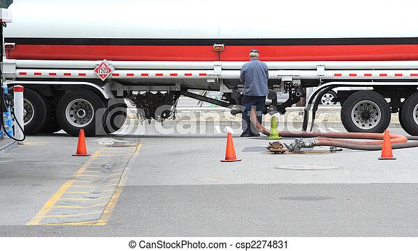 Fuel Tanker - csp2274831