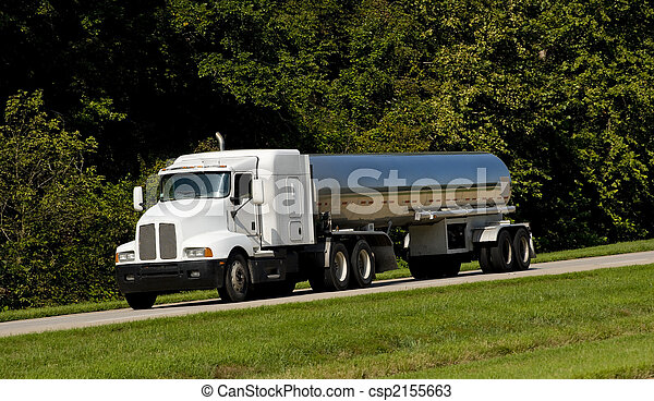 Fuel Tanker Transport Truck - csp2155663