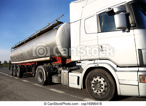 Fuel tanker truck - csp16996418
