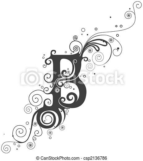 Vines font - csp2136786