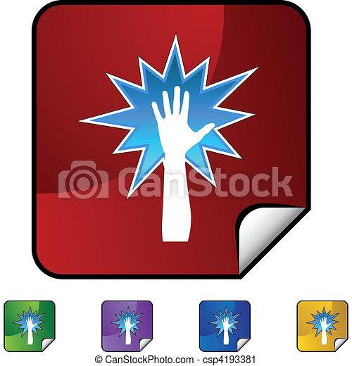 Mano poderosa - csp4193381