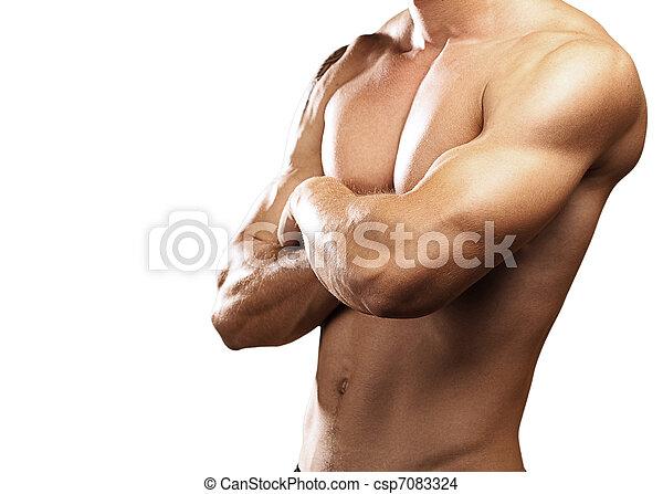 fuerte, torso - csp7083324