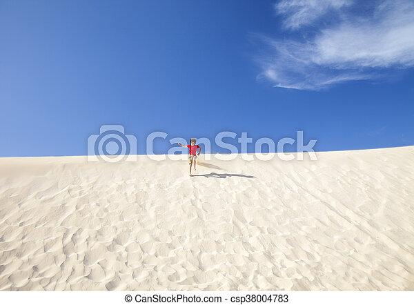 Fuerteventura sand dunes - csp38004783