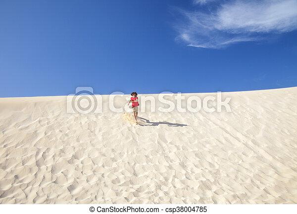 Fuerteventura sand dunes - csp38004785
