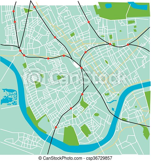 Fulham Map Duck Egg Blue Vector Fulham London Map With Spoof