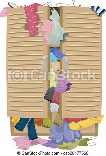 Full Closet - csp20477560