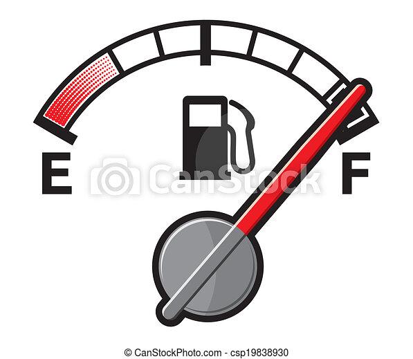 Full gas tank  - csp19838930