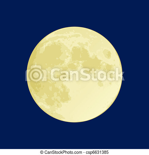 Full Moon - csp6631385