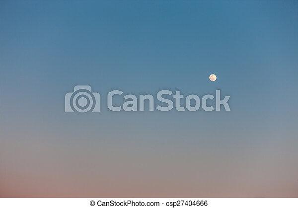 full moon in daylight sky the full moon in daylight blue sky