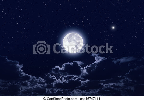 Full moon - csp16747111
