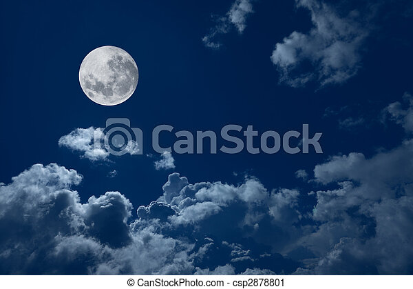 full moon  - csp2878801