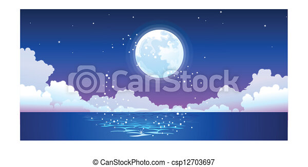 Free full moon reflection water Images, Pictures, and ...   Full Moon Reflecting Off Water