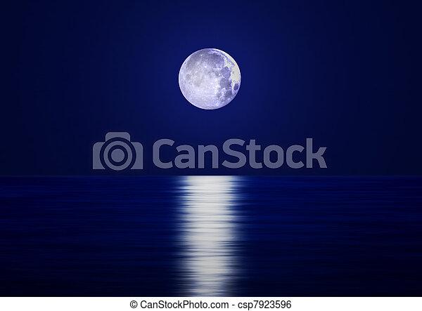 Full Moon - csp7923596